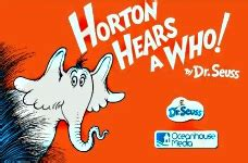 Horton hears a who book review